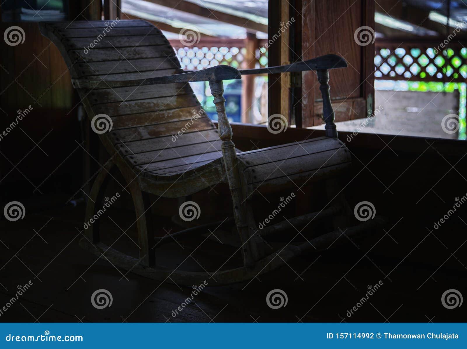 Miraculous Old Rocking Chair Stock Photo Image Of Rocker Seat 157114992 Creativecarmelina Interior Chair Design Creativecarmelinacom