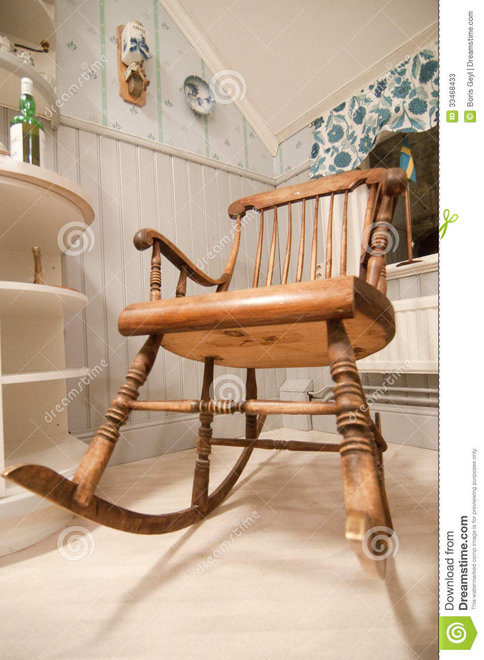 Old Rocking Chair Stock Photos - Image: 33468433