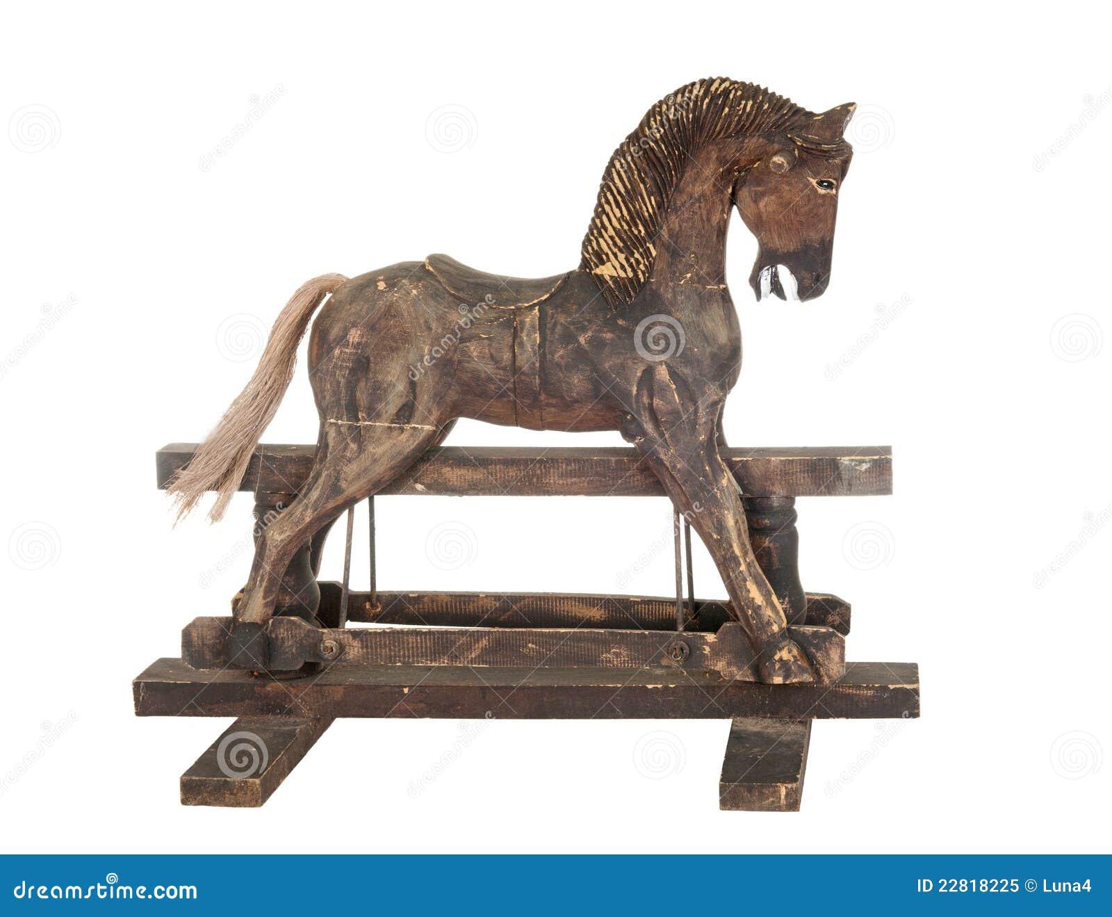 Old Rocking Horse Royalty Free Stock Photo Image 22818225
