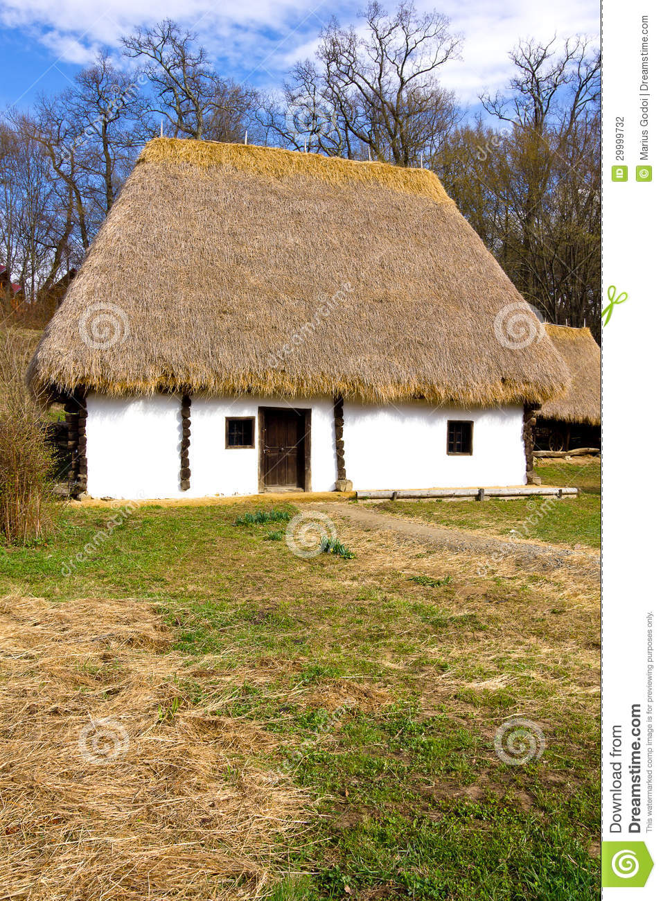 Romanian Peasant House Stock Photo Image Of Architecture