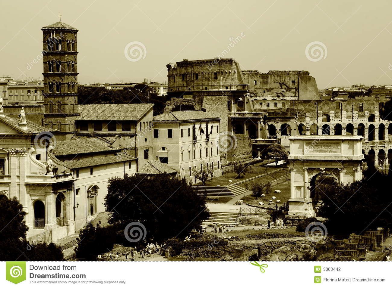 Old Rome Again Stock Photography - Image: 3303442