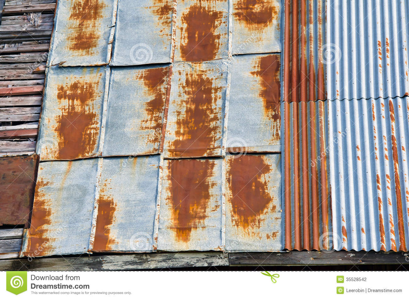 Beautiful Royalty Free Stock Photo. Image Number 4 Of Rusty Roof ...