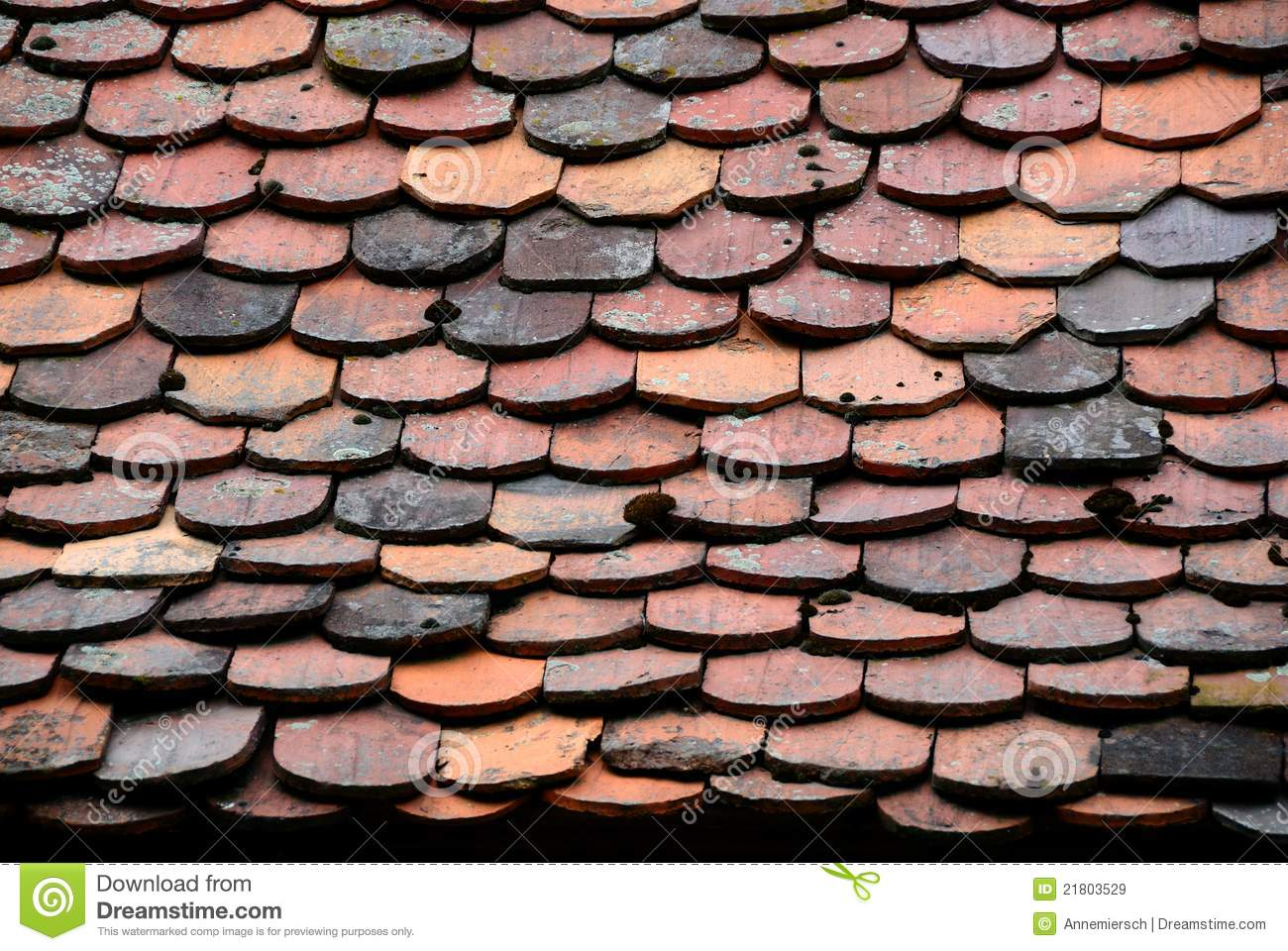 Old roof tiles pattern stock image image of frame grunge for Roof tile patterns