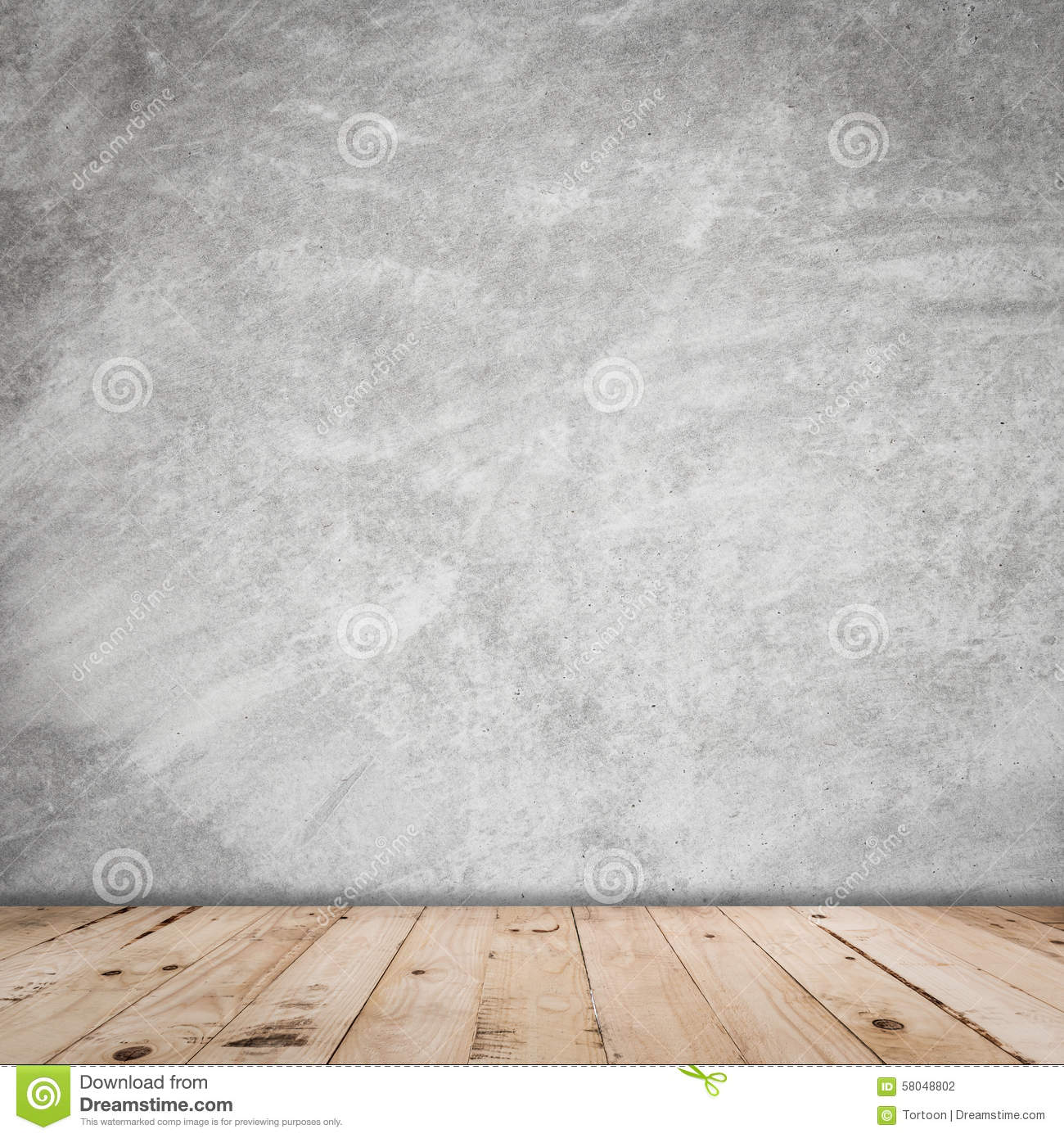 Wall Interior Vintage And Wood Floor Stock Photo Image 58048802