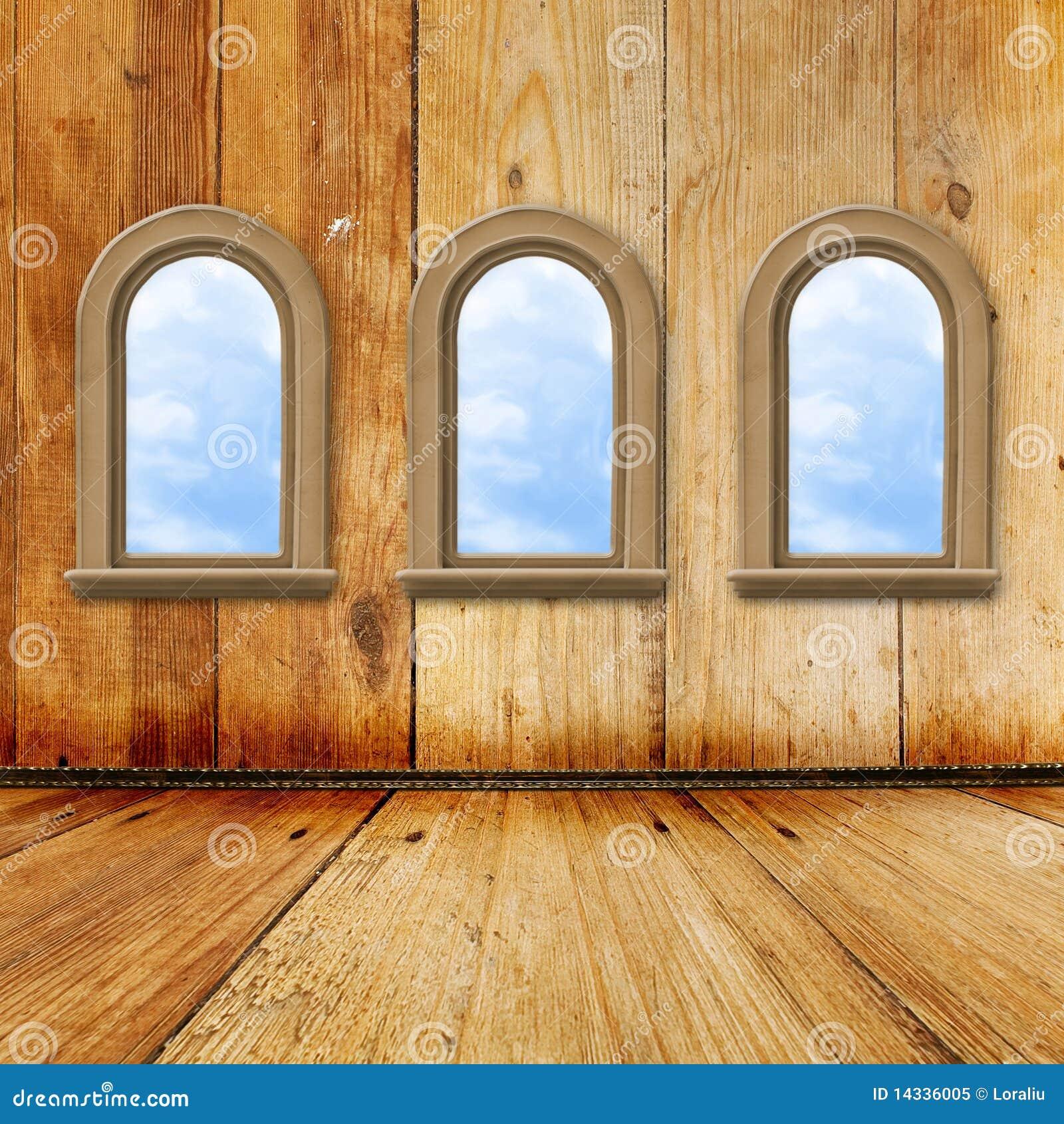 Interior windows - Baroque Grunge Interior