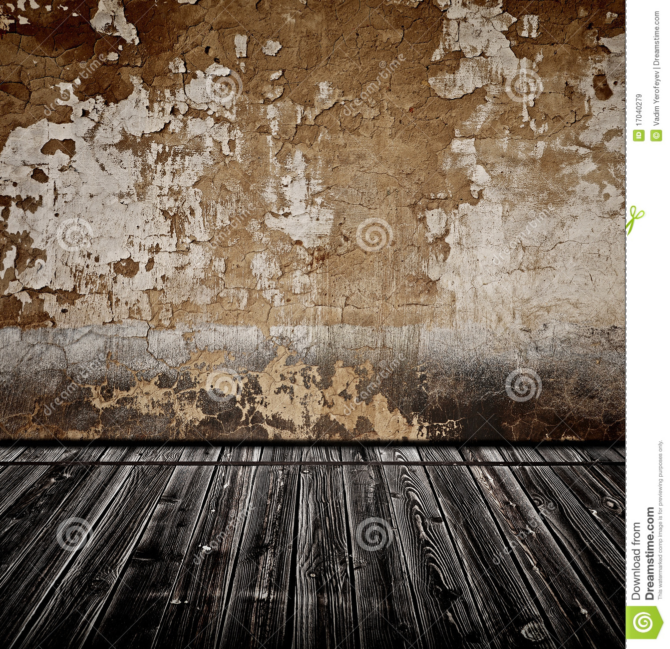 Old Room With Wall Stock Image Image Of Dark Historical