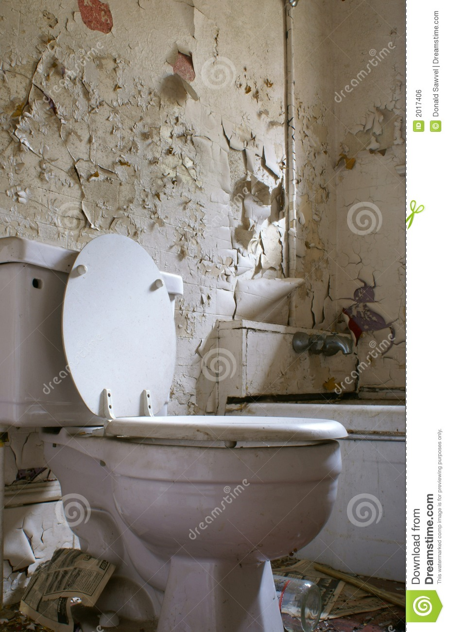 Old Rotten Bathroom Royalty Free Stock Image Image 2017406