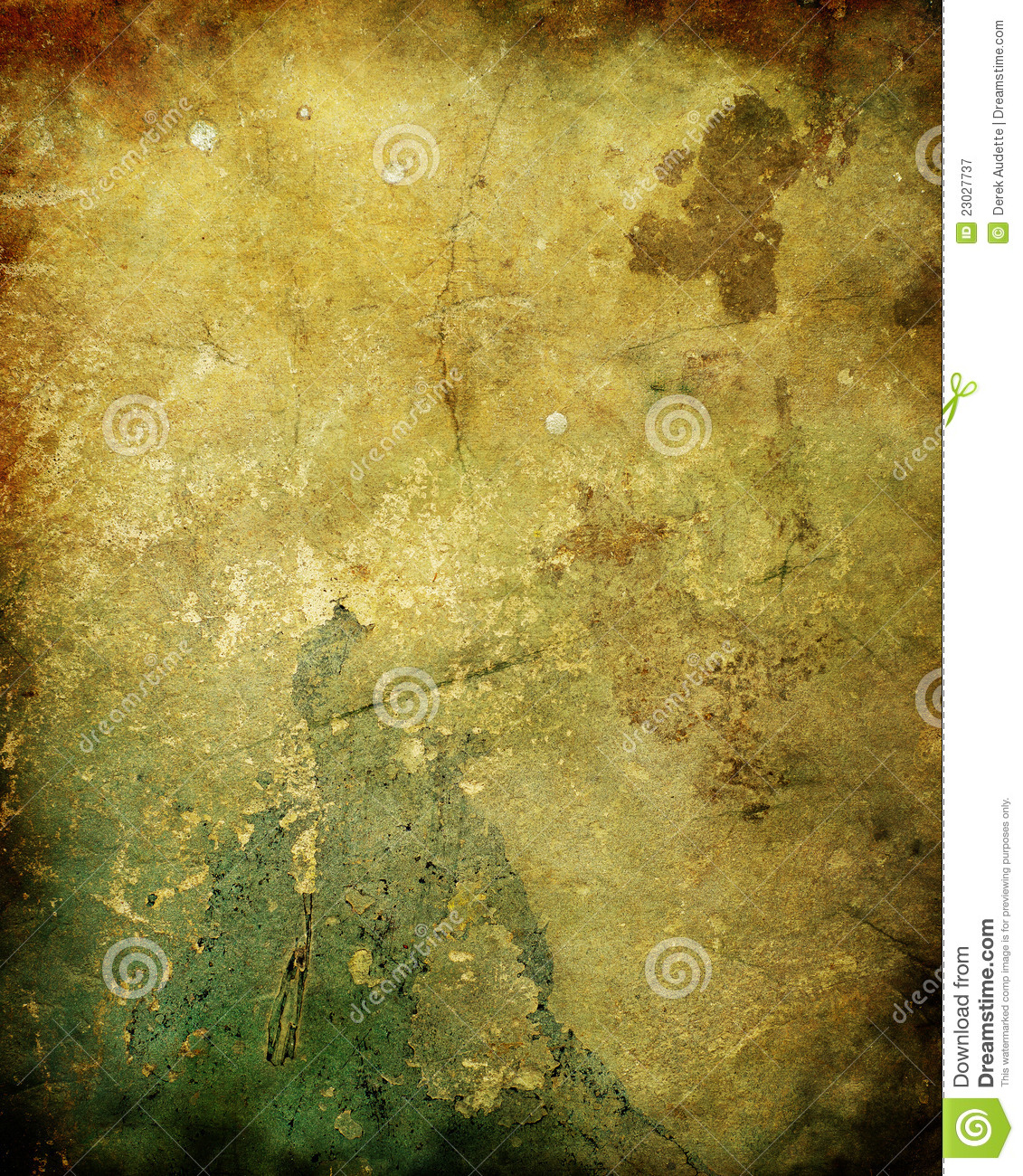 Old Rotten Plaster Wall Texture Royalty Free Stock