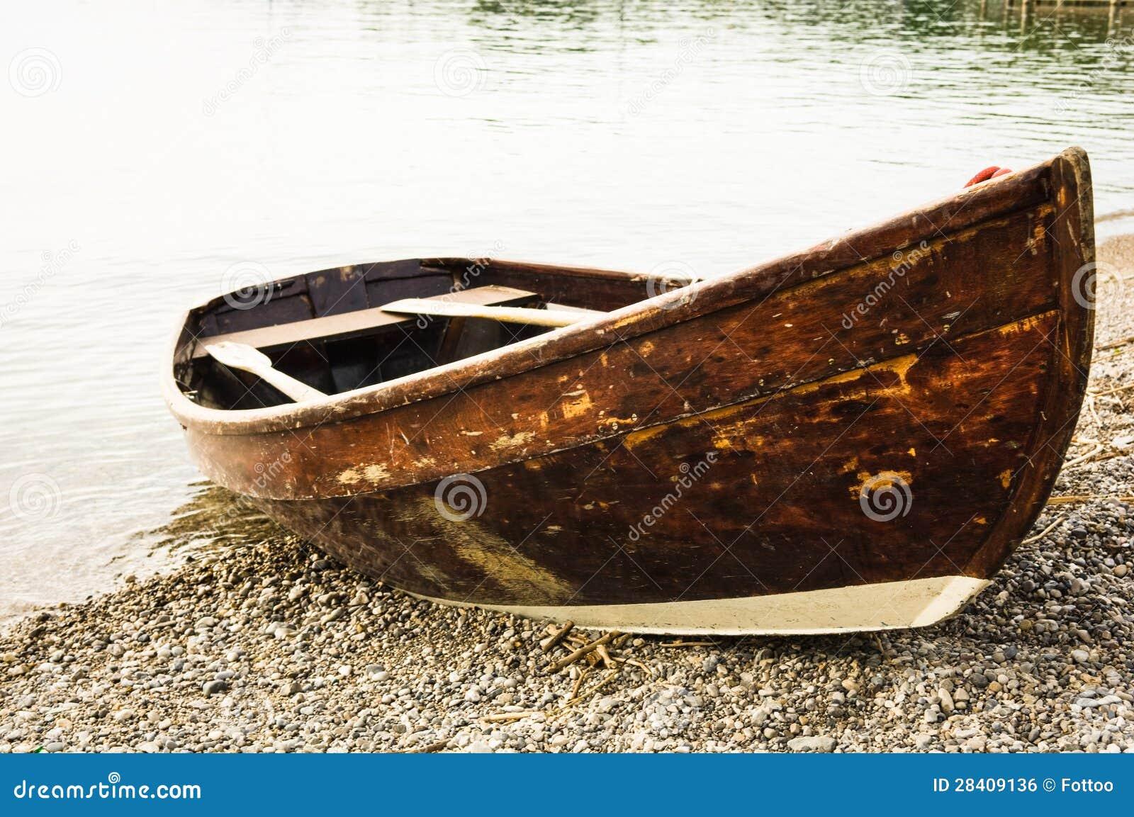 Old rowboat stock photo. Image of summer, fishing, monochrome - 28409136