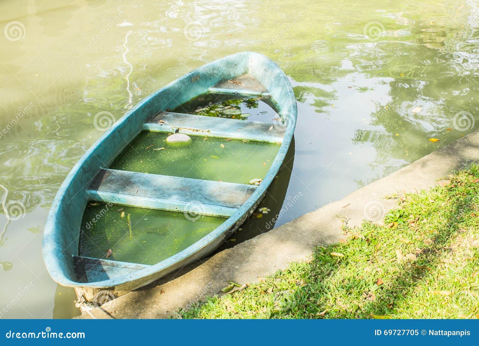 plastic rowboat Vintage