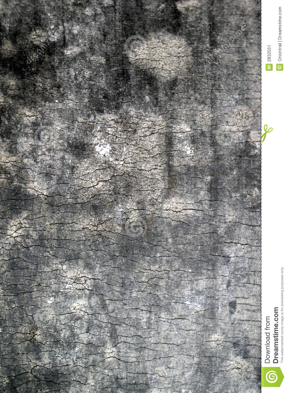 Old rubber crusty texture