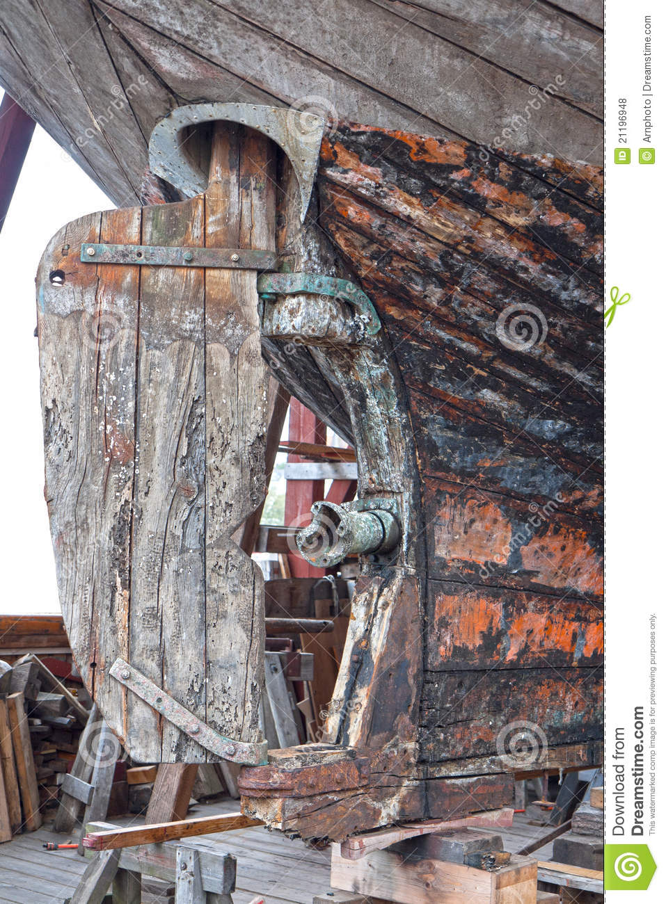 Old Rudder