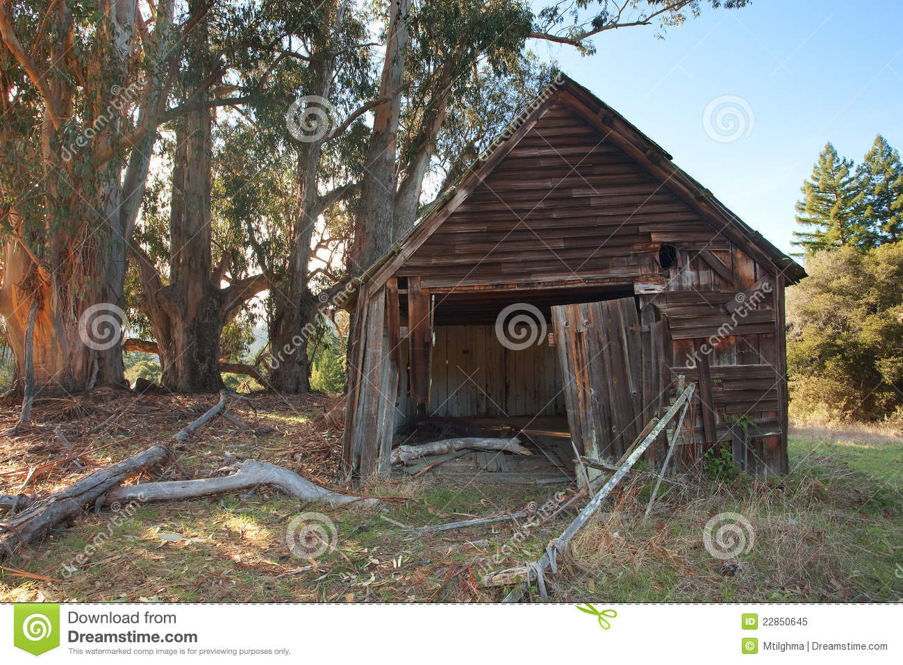 Old Run Down Cabin Stock Image Image Of Cabin Home