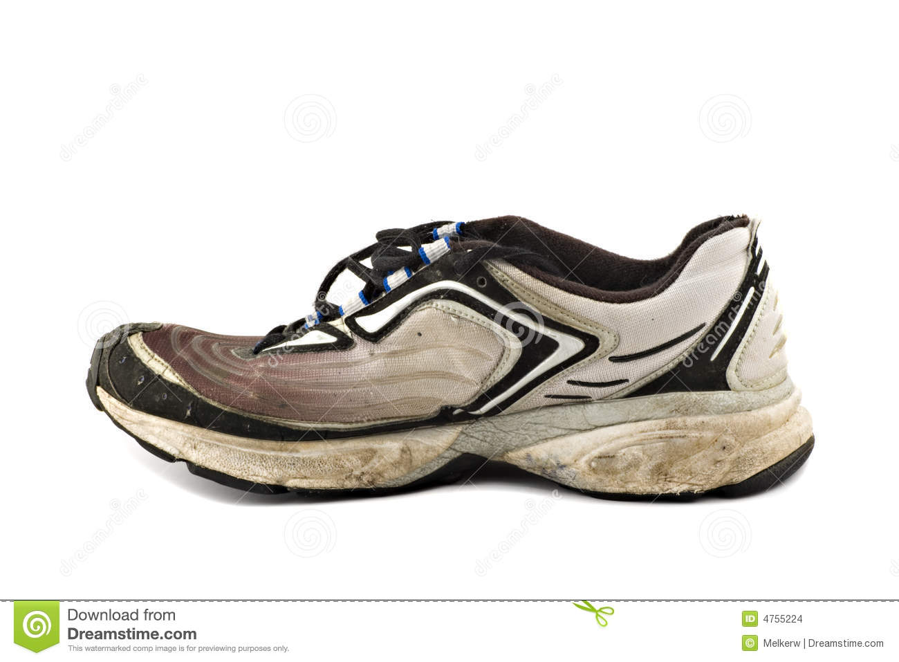 Old Dirty Running Shoe