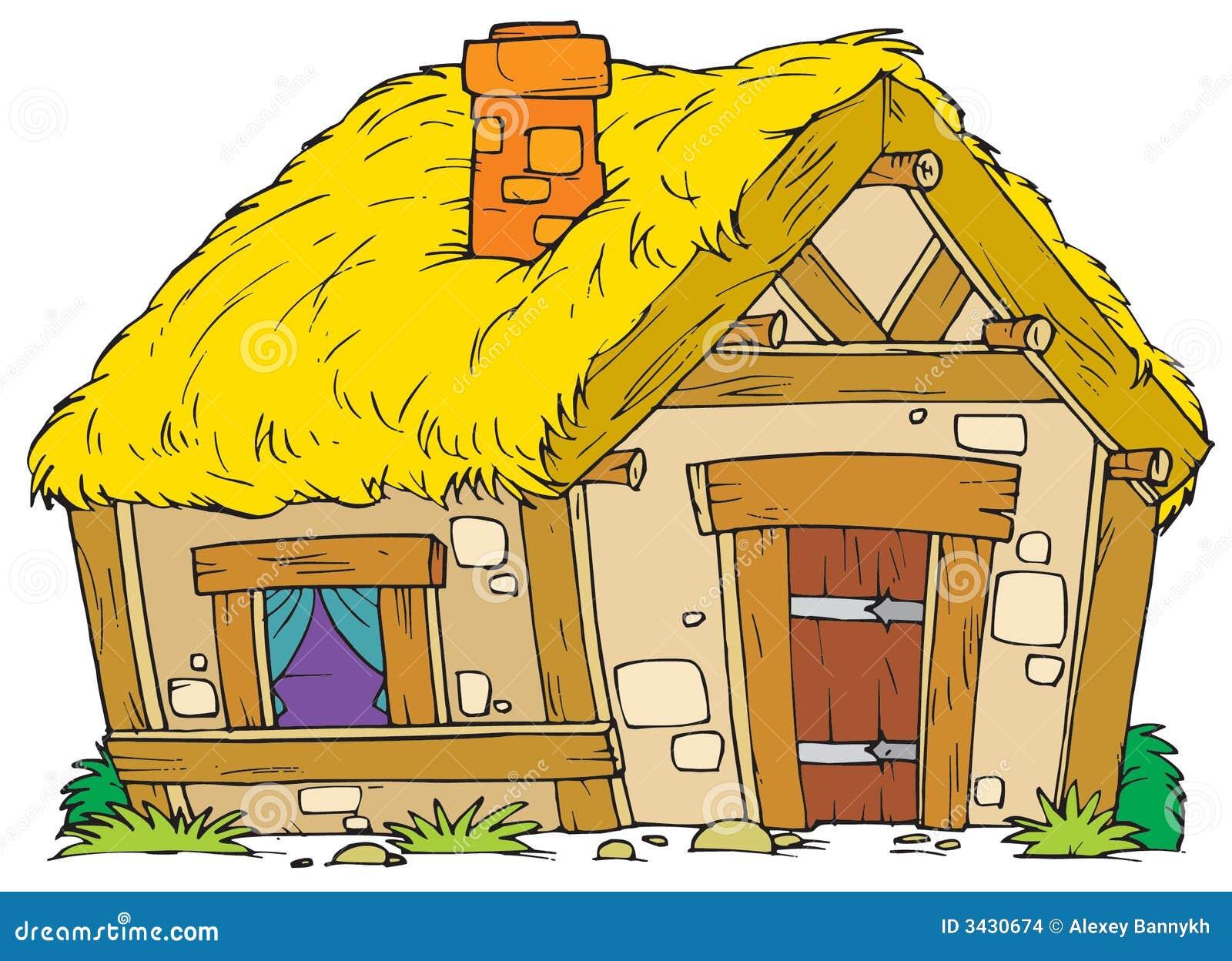 Old rural house stock images image 3430674 - Casa rural de madera ...