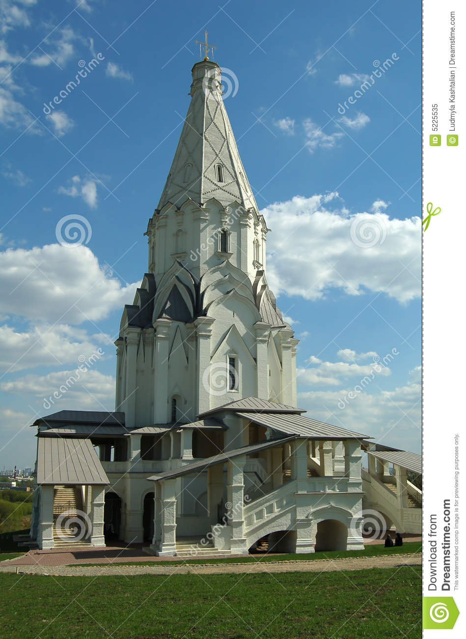 Old Russian Architecture Royalty Free Stock Photo Image