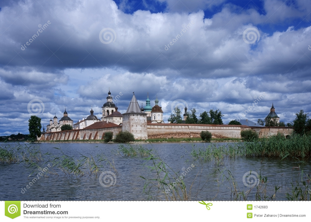 Old Russsian monastery