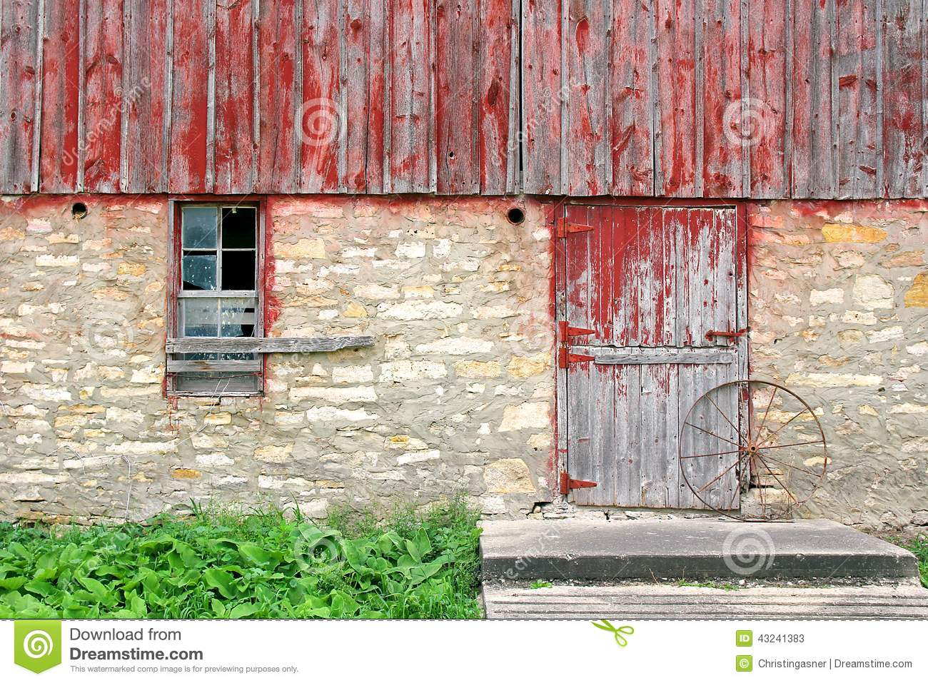 Old rustic barn exterior wall background stock image for Exterior background