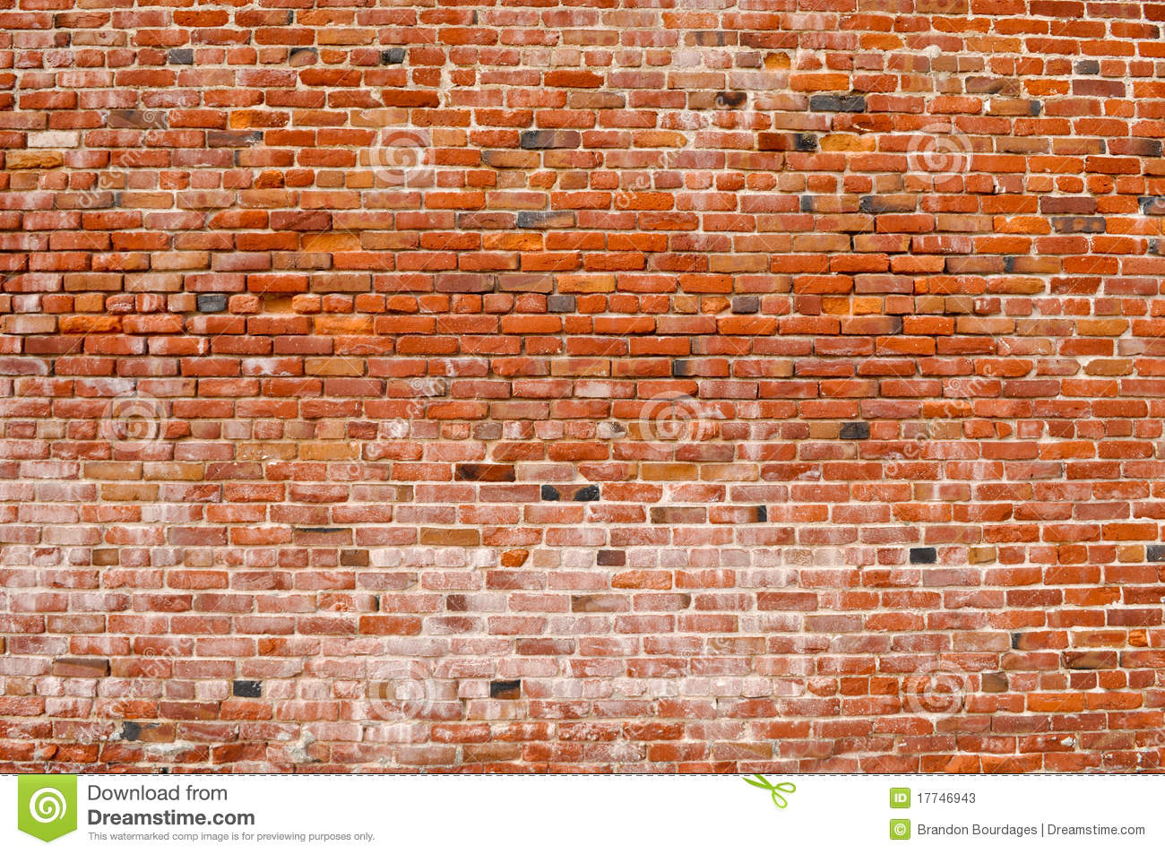 Old Rustic Brick Wall Stock Image Image Of Rusty
