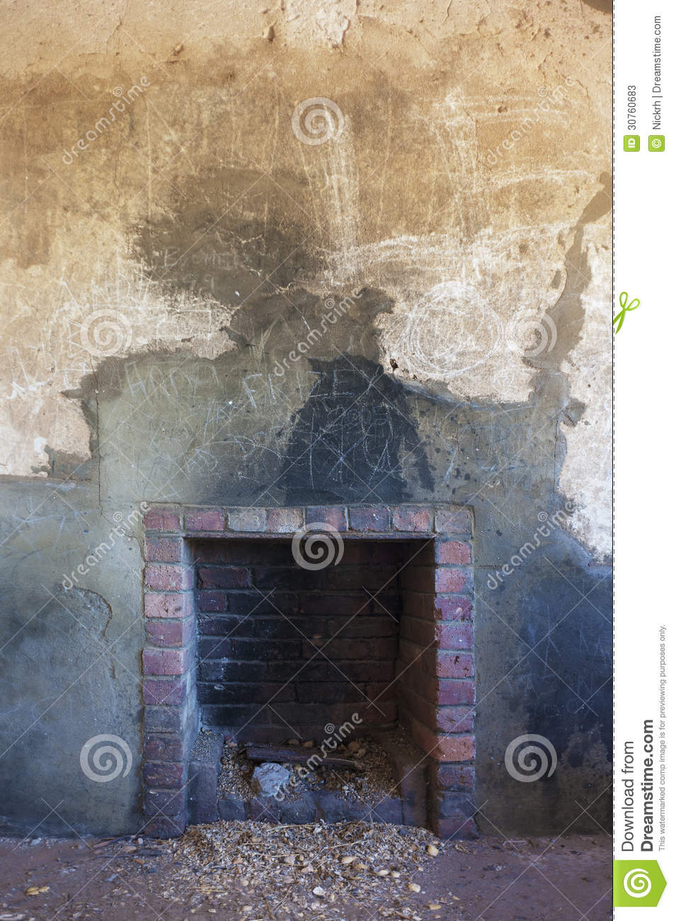 Old Rustic Fireplace Stock Image Image Of Dwelling