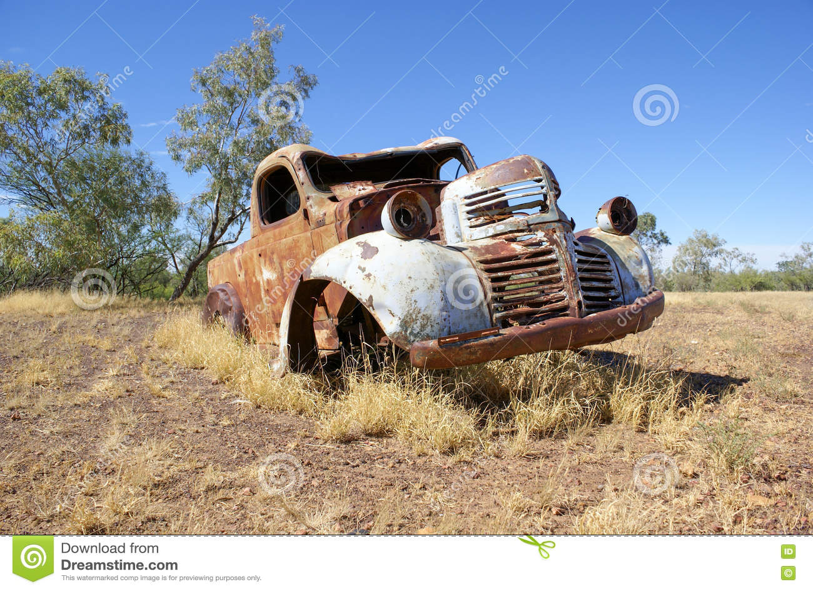 Abandoned Car Australia Stock Photos - Royalty Free Images