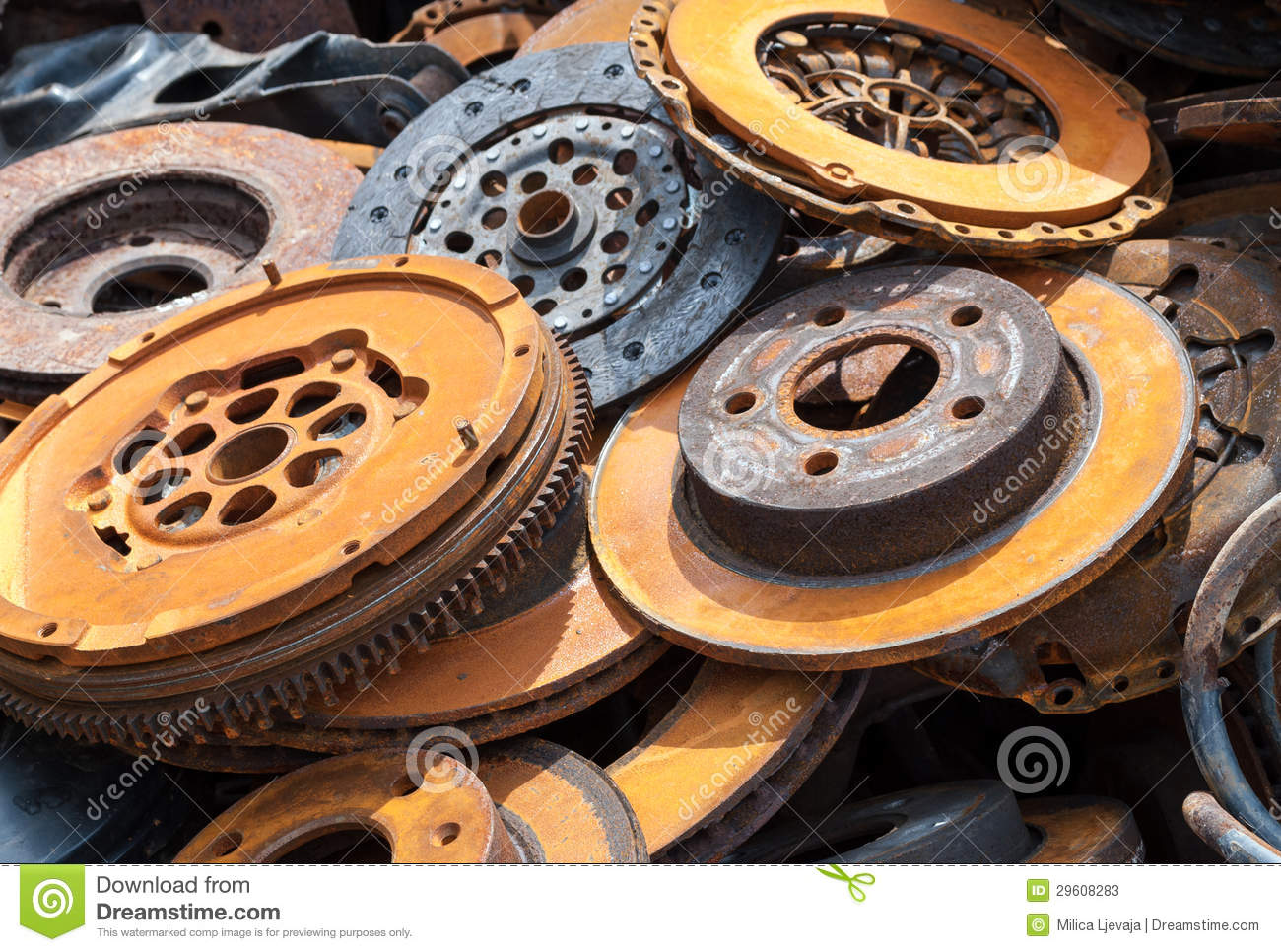 Old rusty auto parts stock photos image 29608283 for Old vehicle parts