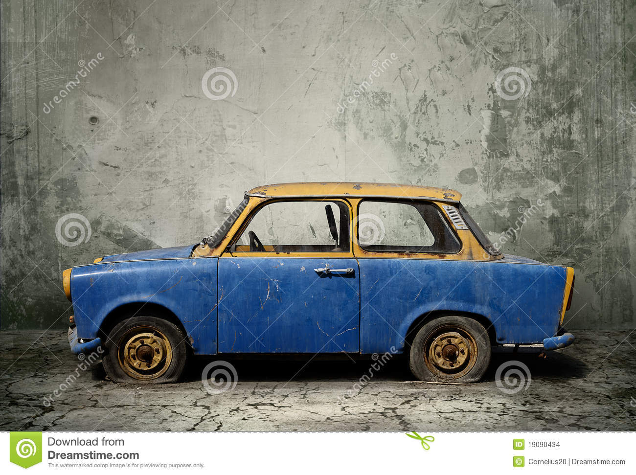 Old Rusty Car Stock Photo. Image Of Corrosion, Ground