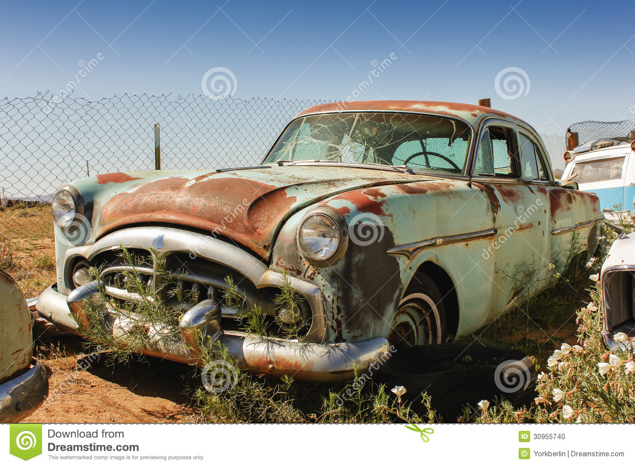 Old rusty car stock photo. Image of yard, nostalgia, forgotten ...