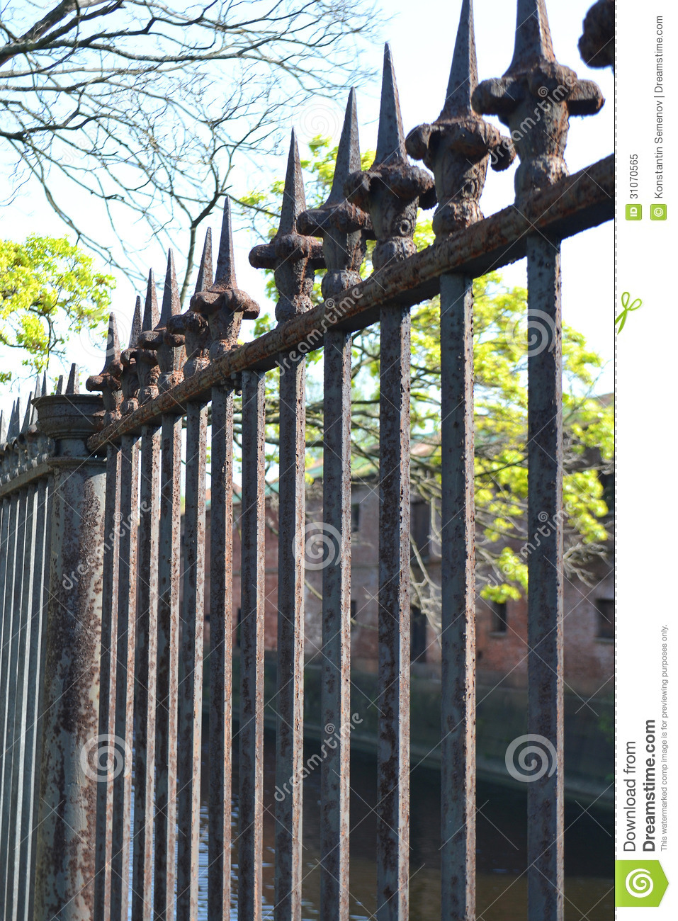 Old Rusty Fence Royalty Free Stock Photo Image 31070565