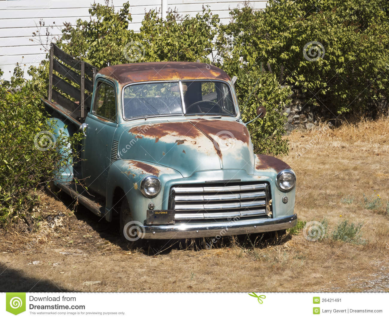 Old Rusty Pickup Truck Stock Image Image 26421491