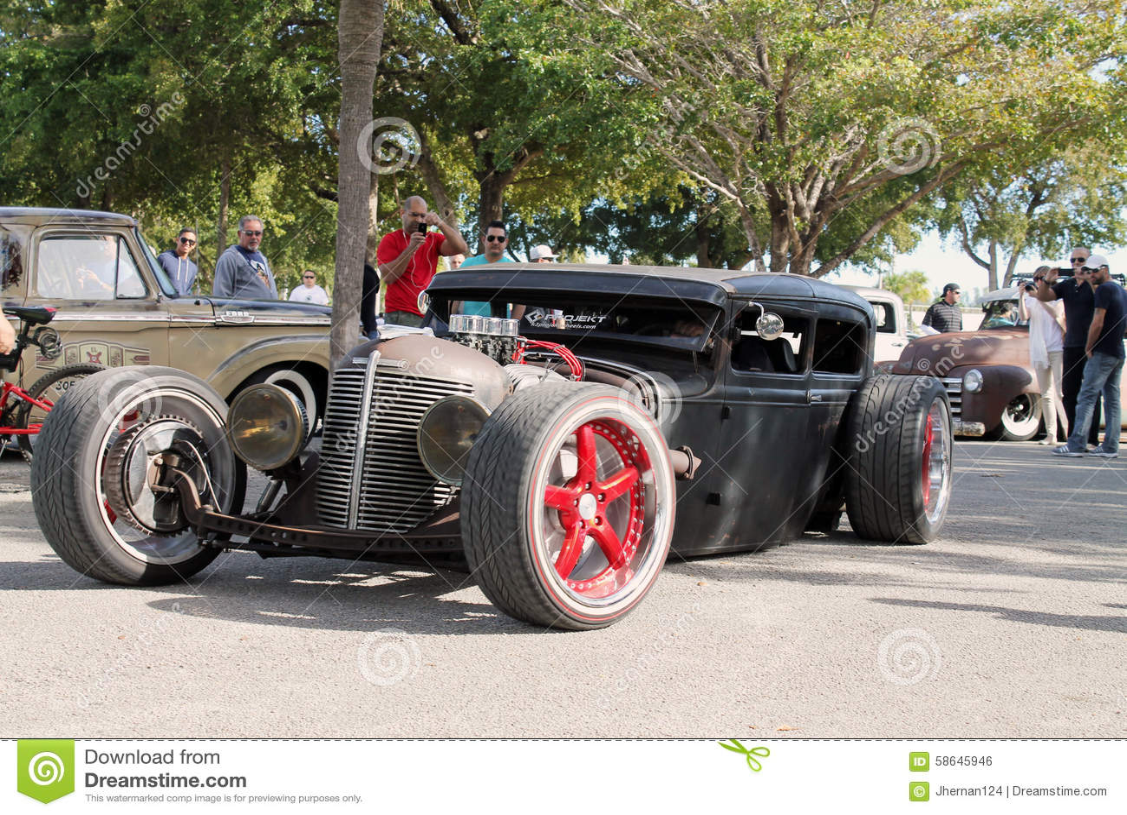 Old Rusty Rod car editorial photo. Image of americana - 58645946
