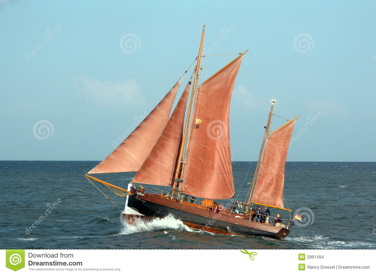 Old Sail Ship Stock Images - Image: 2991494