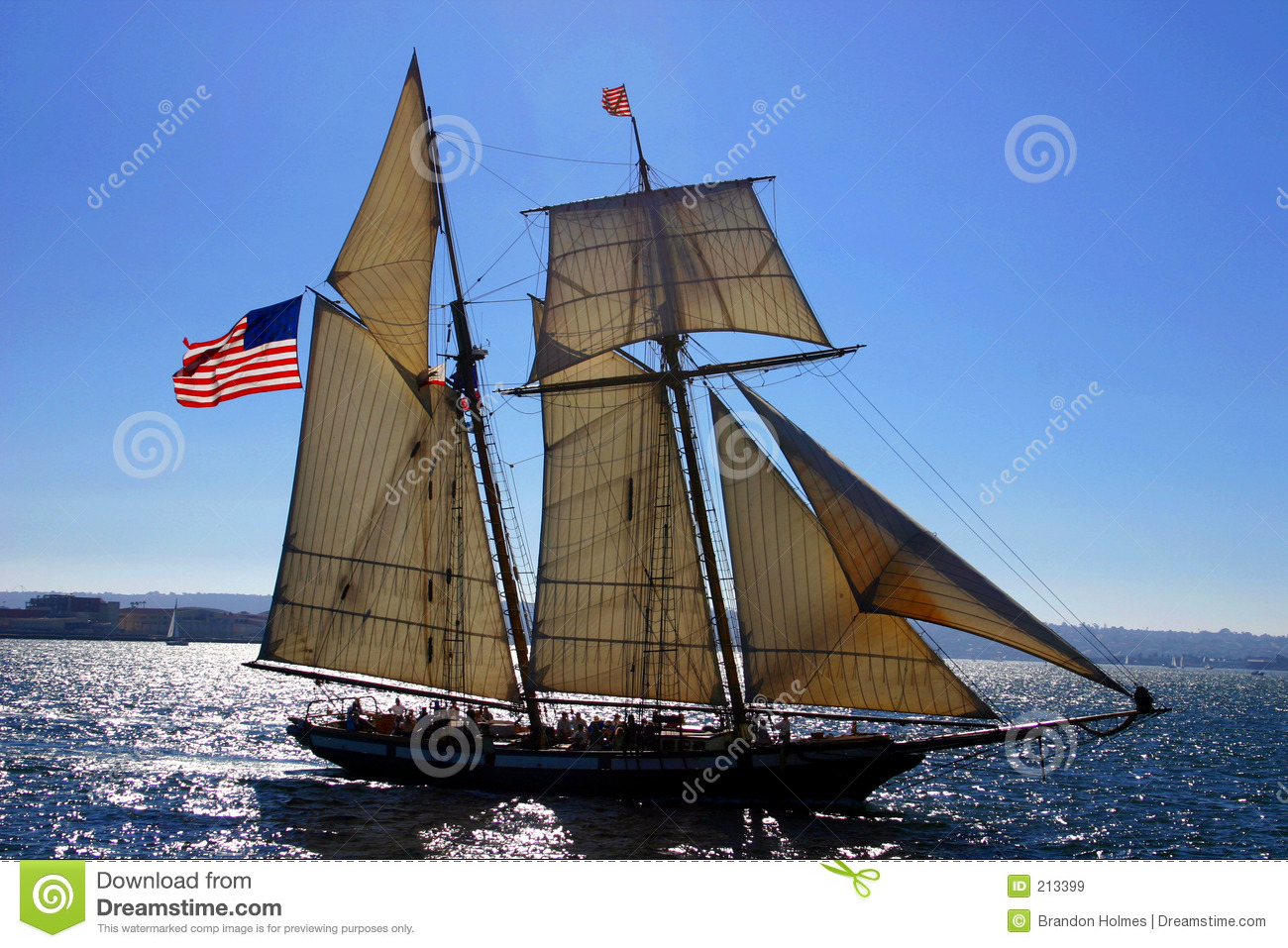 Old Sailboat Royalty Free Stock Images - Image: 213399