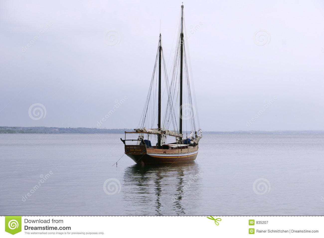 Old Sailboat Royalty Free Stock Photography - Image: 835207