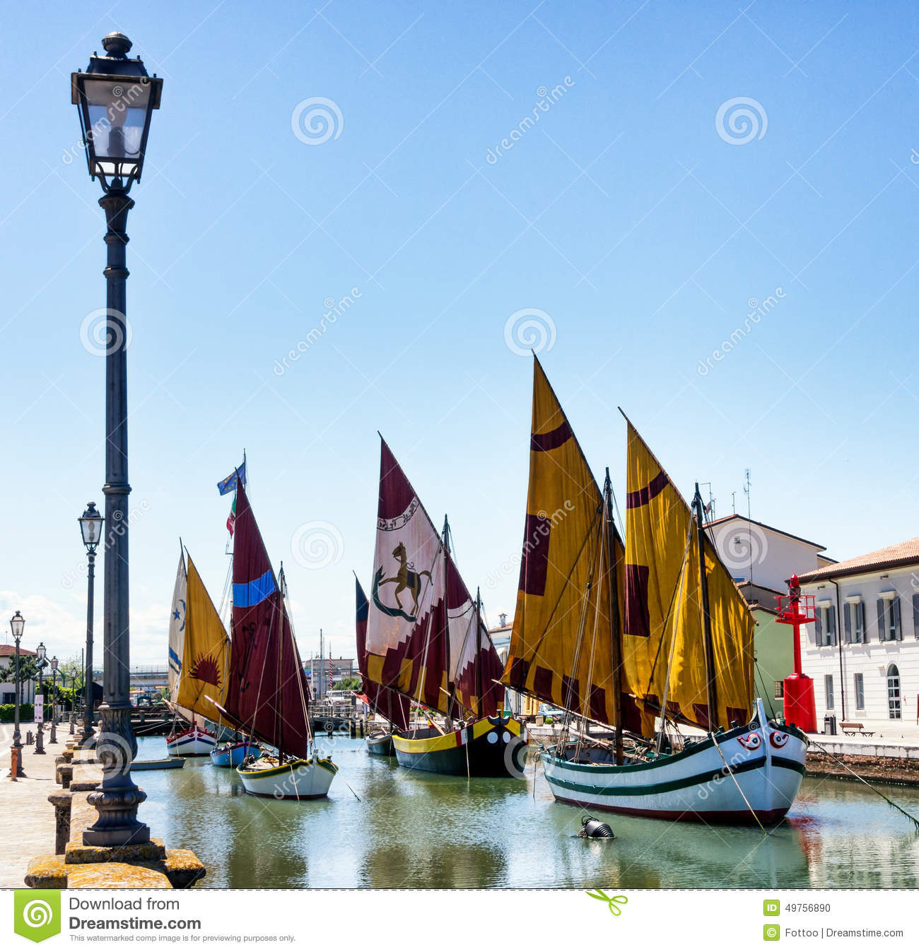 Old sailboats stock photo  Image of outdoors, place