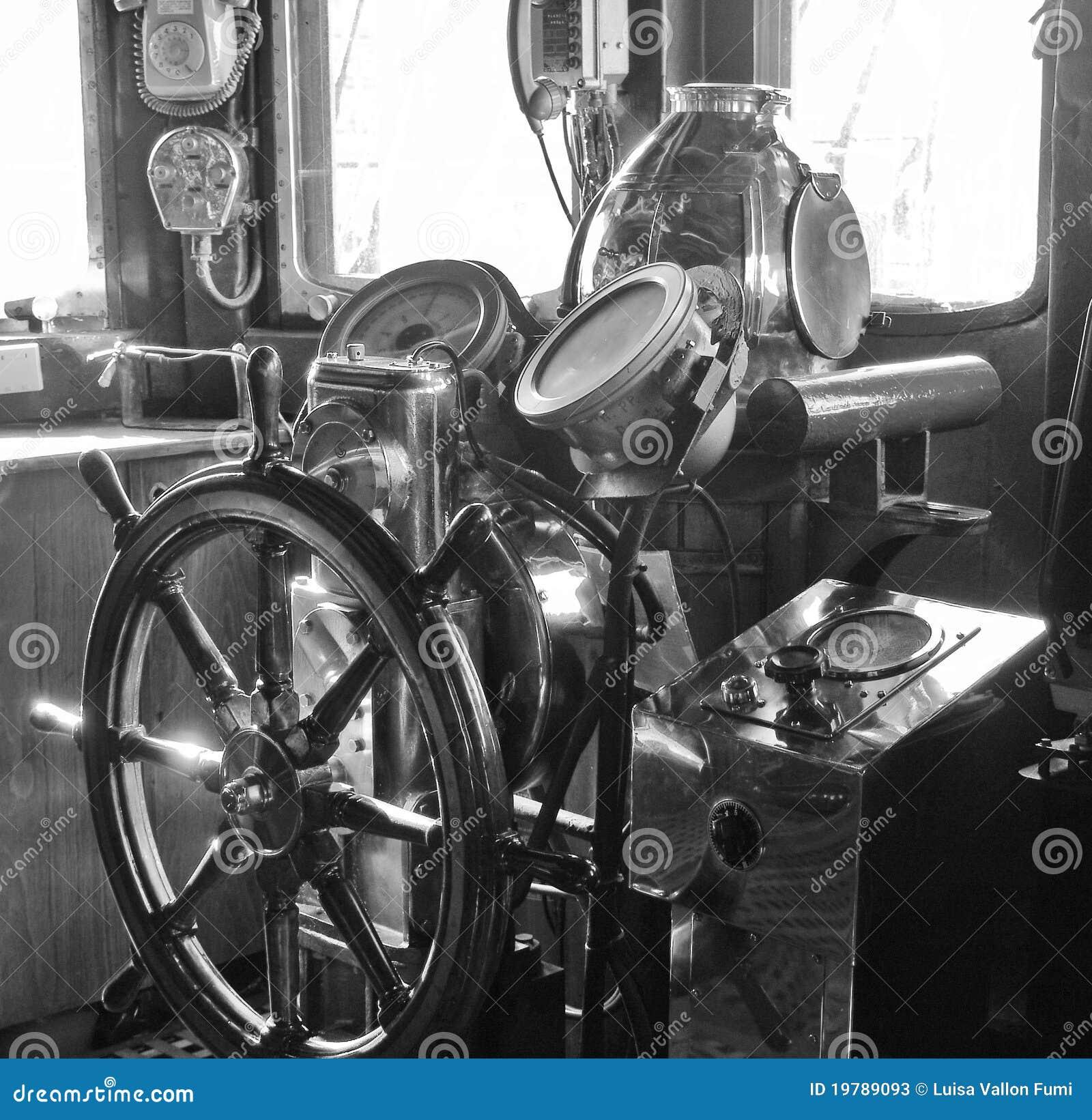 Old Sailing Ship Comma...