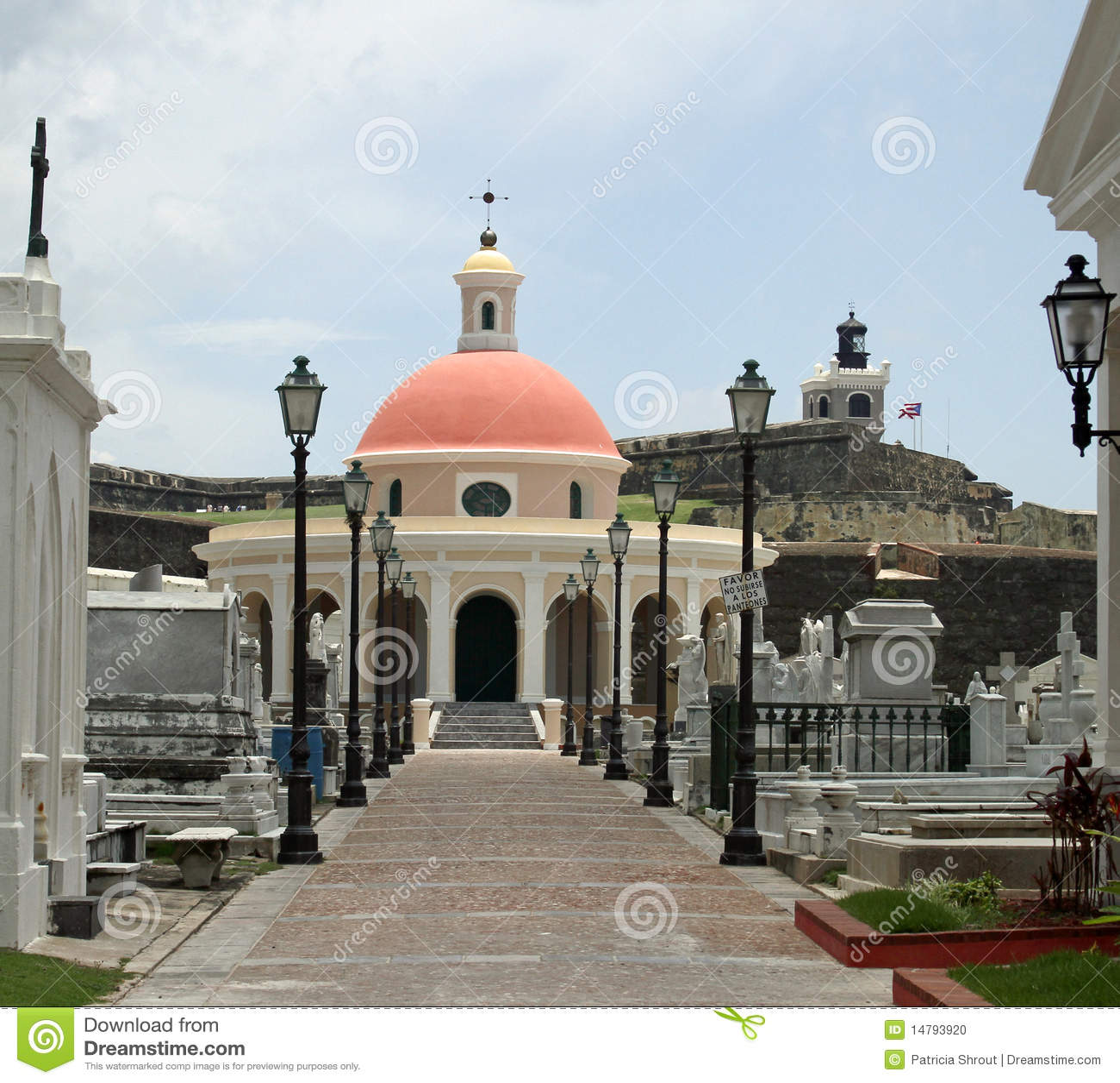 Old San Juan cemetary