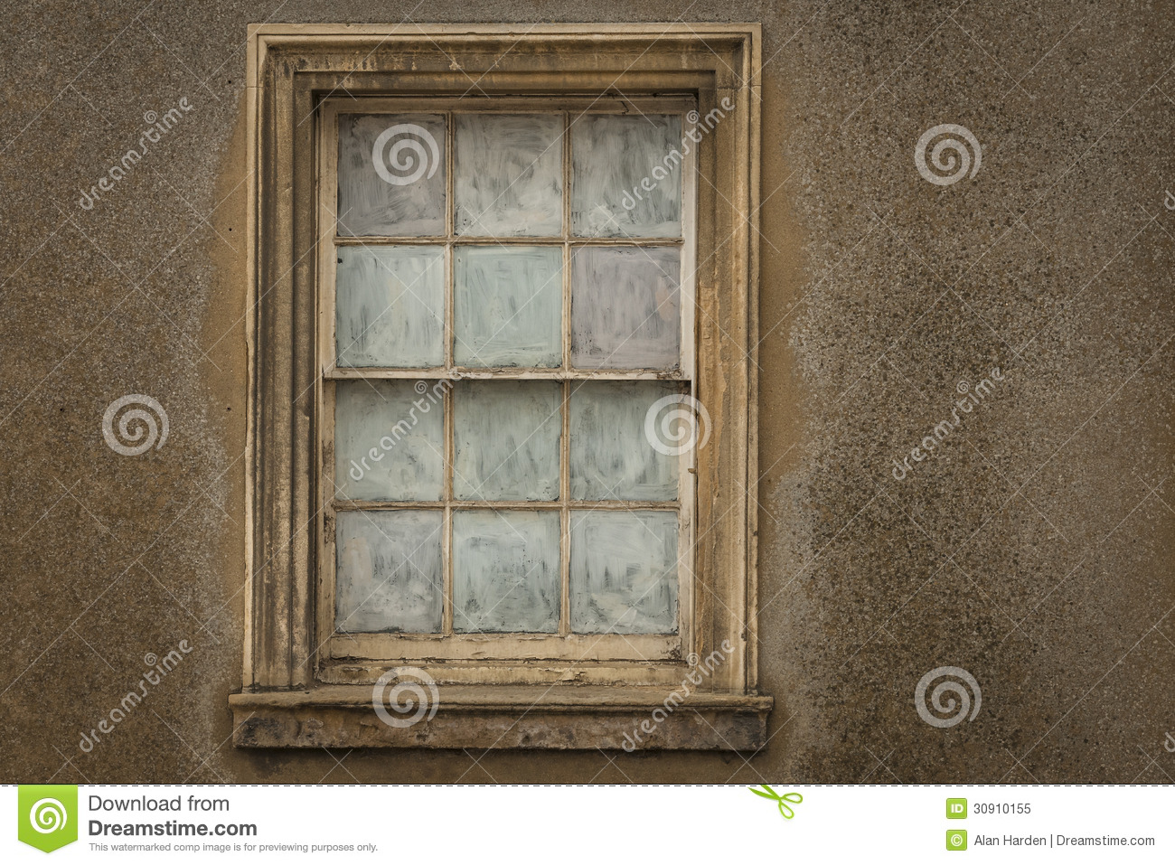 Obscure Glass Windows Opens Out : Old sash window royalty free stock photo image