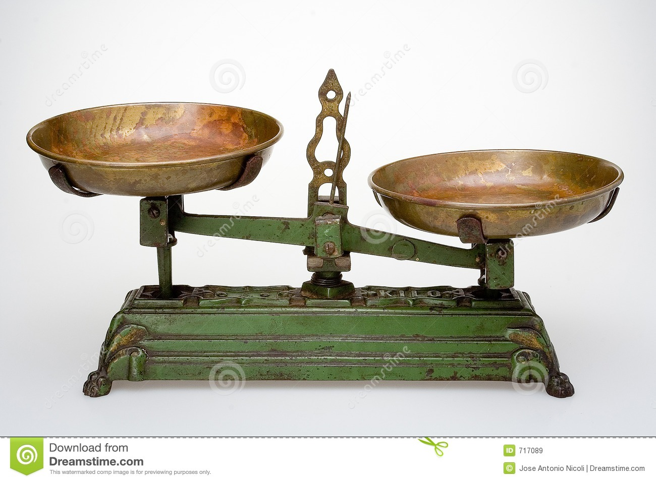 Old Scale Royalty Free Stock Images