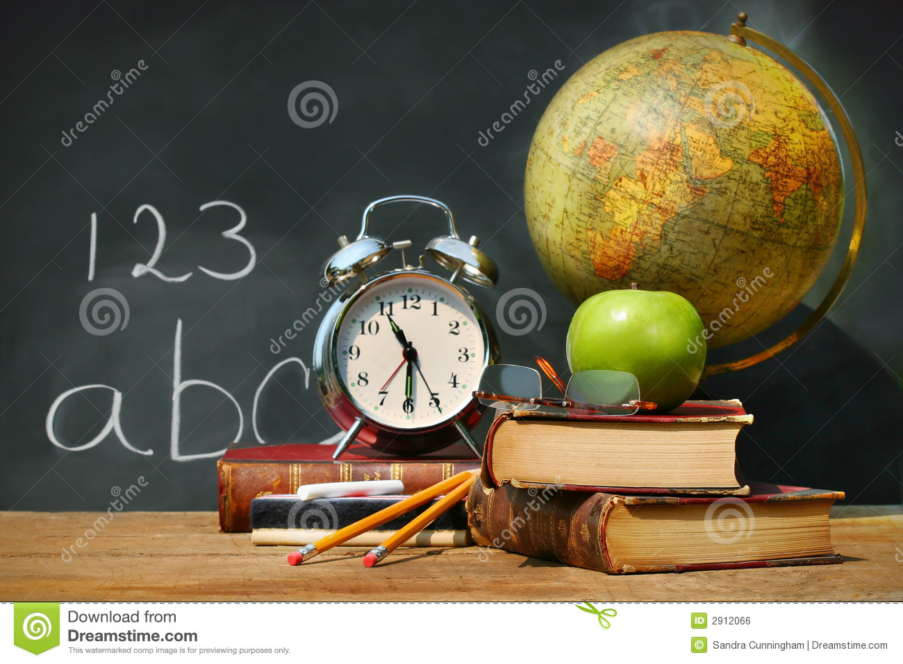 Old School Books Royalty Free Stock Image Image