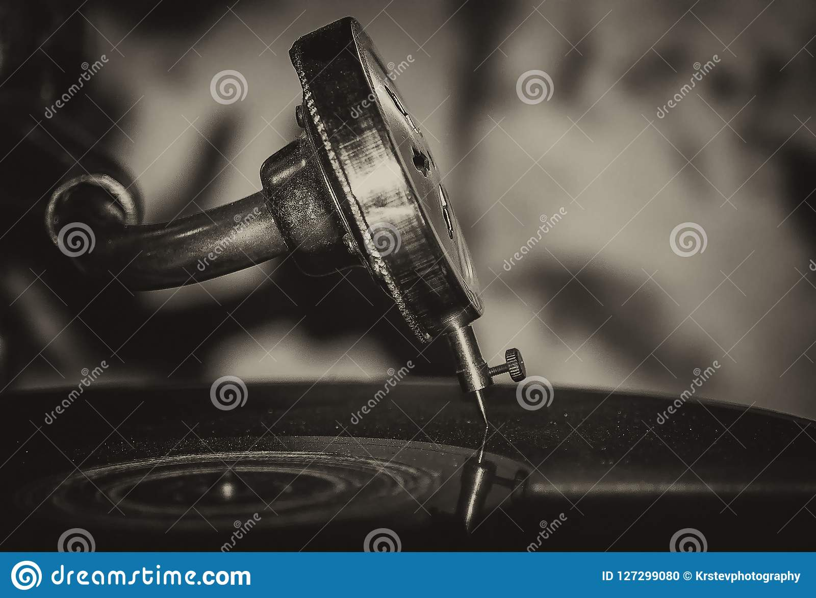 Old School Jazz Music Gramophone Stock Photo - Image of nisville