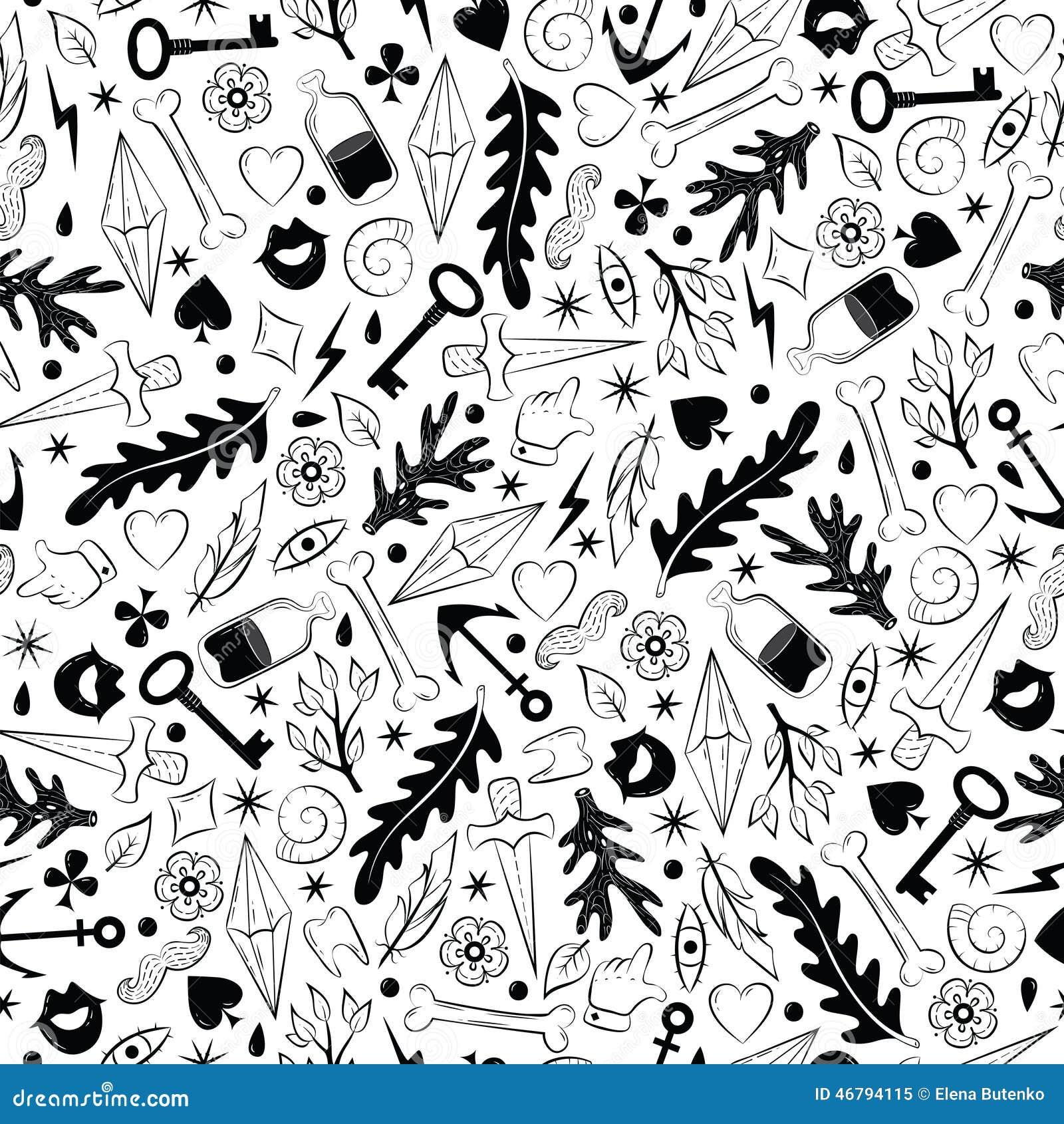 Old School Tattoo Stock Vector Illustration Of Artistic 46794115