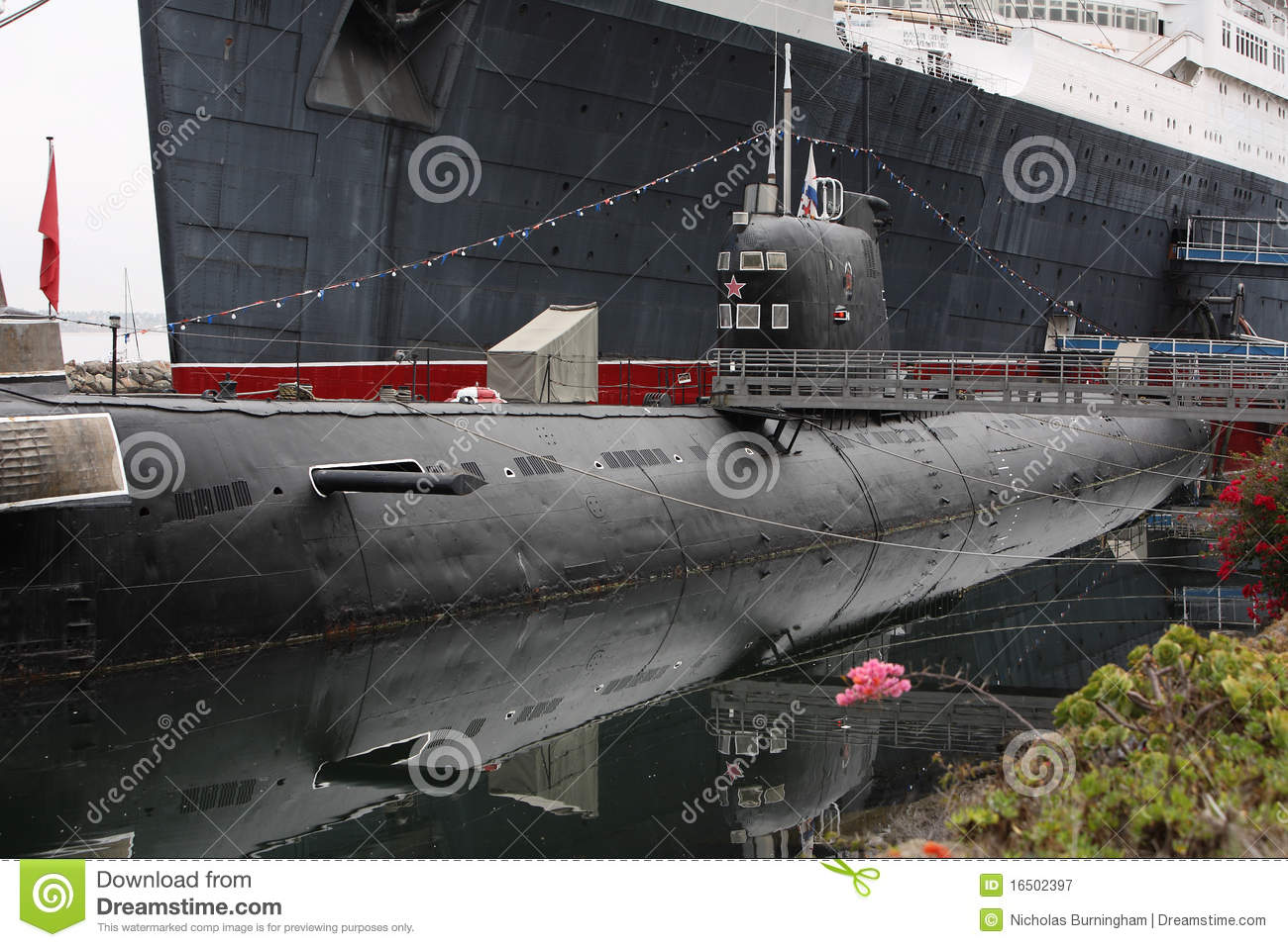 Old Scorpion Russian Submarine Editorial Photography - Image