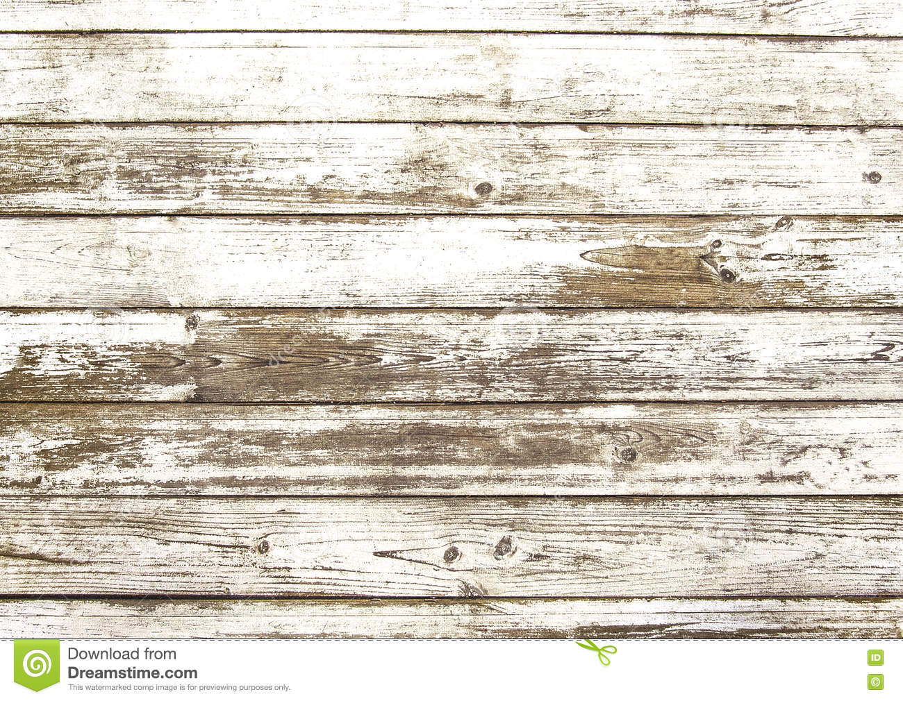 Old scratched white wooden texture