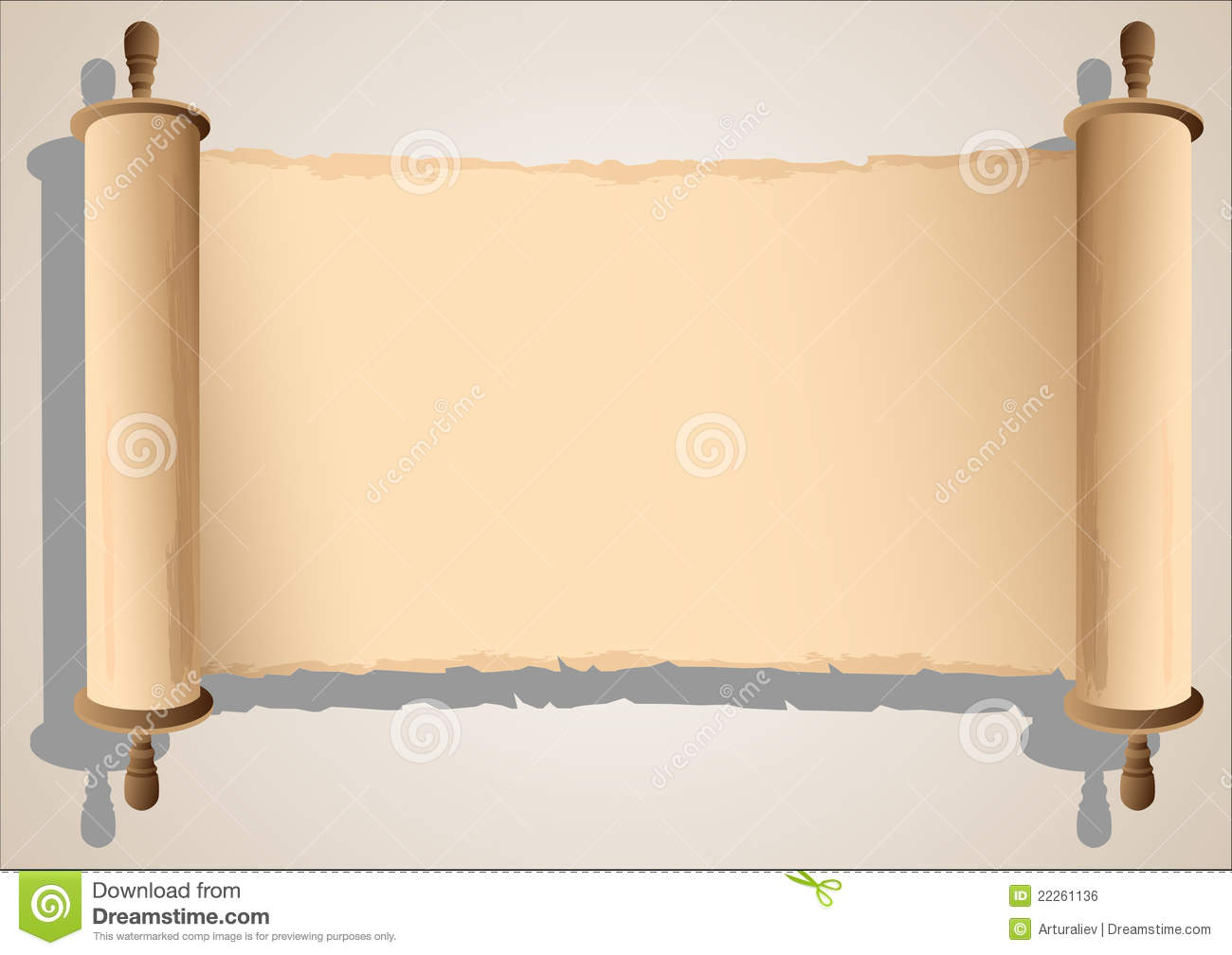 Blank Horizontal Scroll Banner | www.pixshark.com - Images ...
