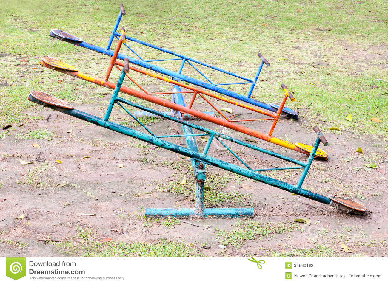 Old seesaw board stock photography image 34560162 for Seesaw plans designs