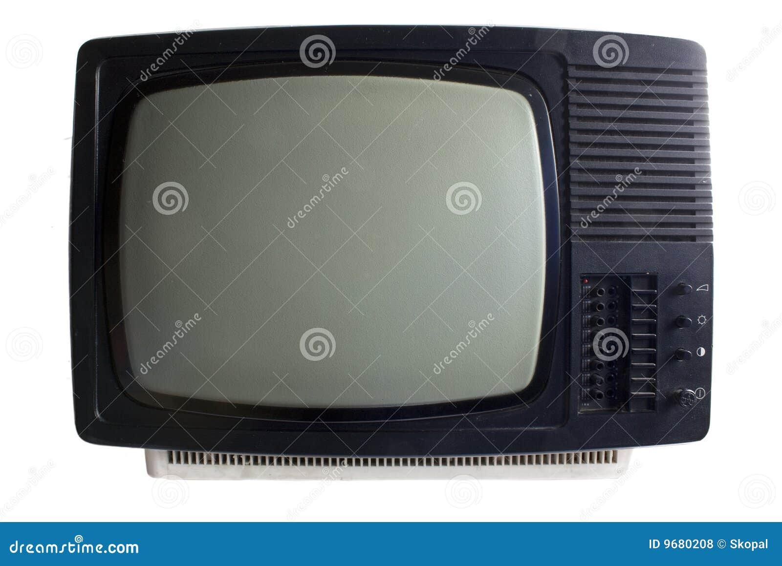 Old set tv
