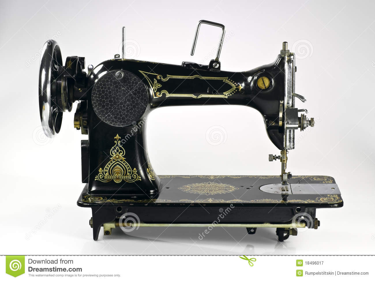 Old Sewing Machine Royalty Free Stock Photography Image