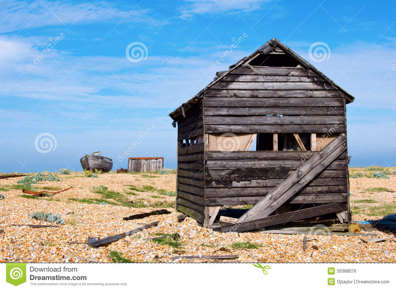 Old Shack Royalty Free Stock Image - Image: 20388076