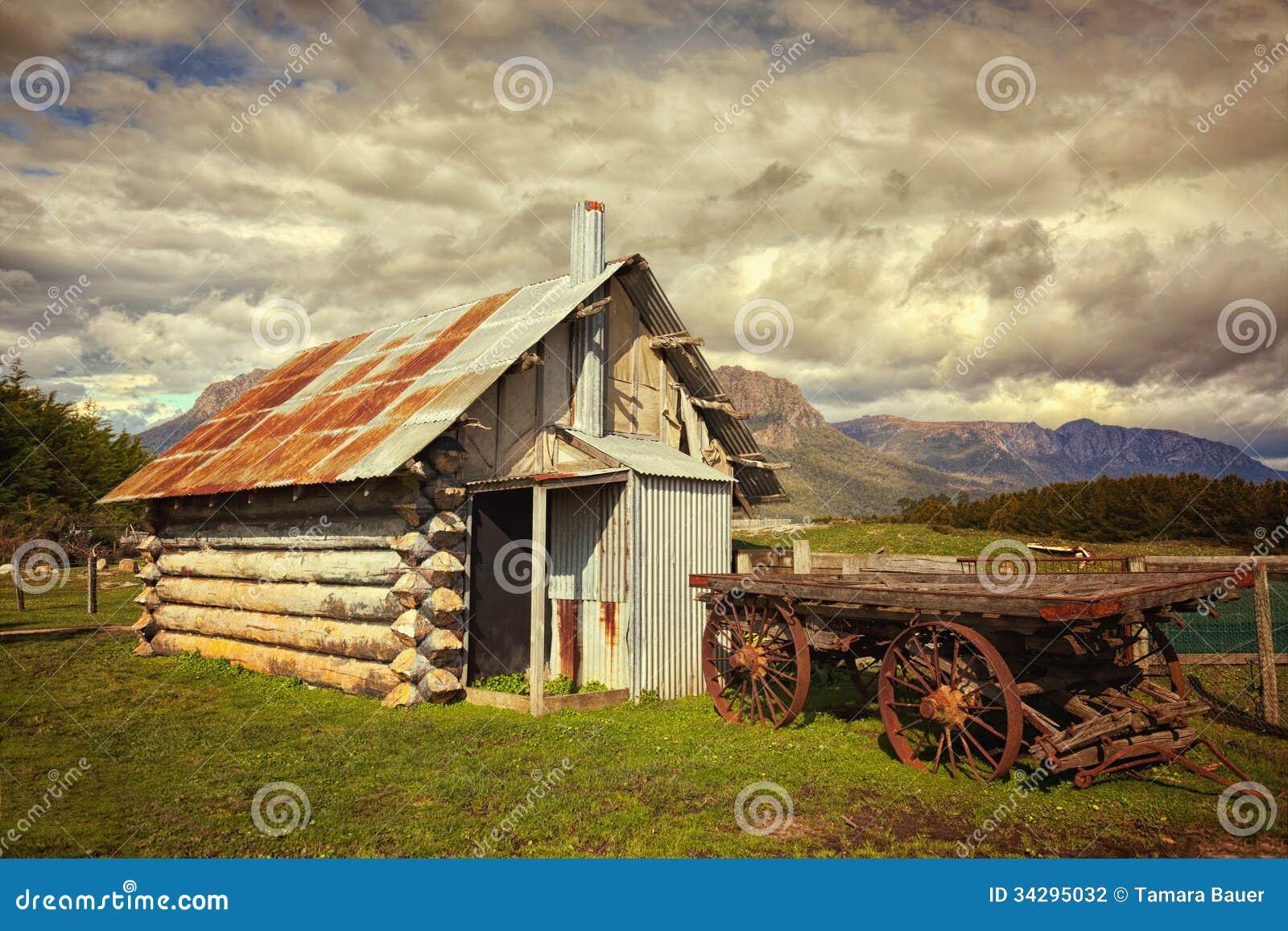 Old shack in Australia